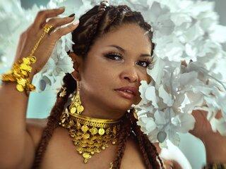 EvaRangel naked shows jasmine